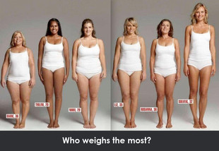 Who weighs the most in this pic?