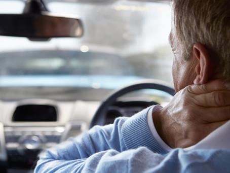 Be Aware of Delayed Car Wreck Injuries