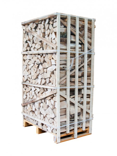 KILN DRIED HARDWOOD LOGS 2m Crate (Birch)
