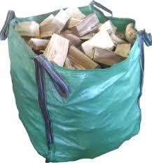 KILN DRIED HARDWOOD LOGS 800x800m BULK BAG (Birch)