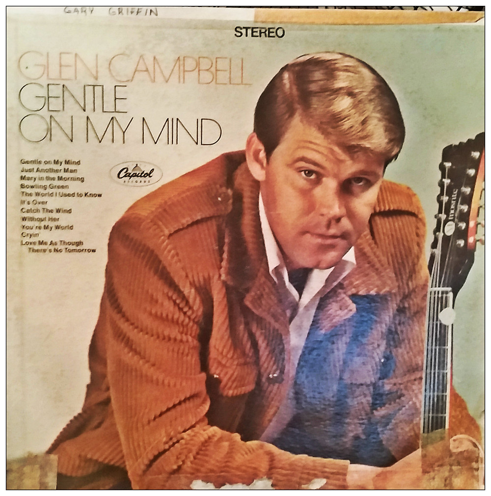 My brother Gary's album, a jewel from another time.