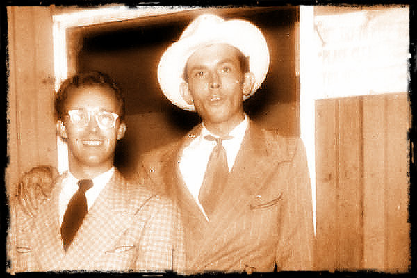 Don Helms and Hank Sr. in the late Forties