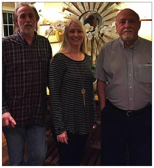 Uncle Dave, Deb, Gary,  2017.