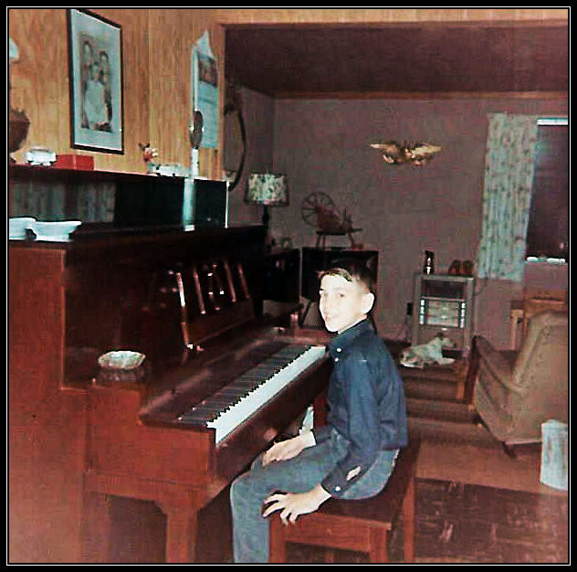 Uncle Dave, piano man. 1965