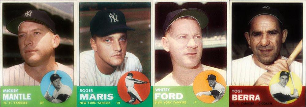 TOPP'S Baseball Cards, 1963