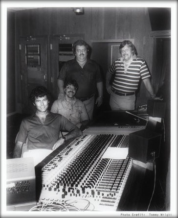 Muscle Shoals Swampers:  David Hood, Roger Hawkins, Jimmy Johnson, Barry Beckett.