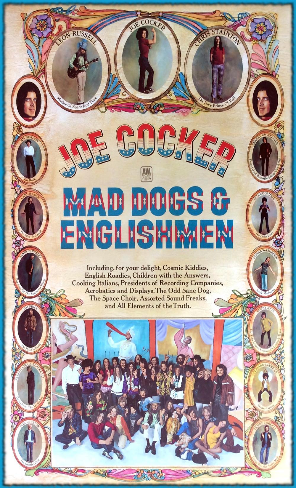 MAD DOGS & ENGLISHMEN, 1970