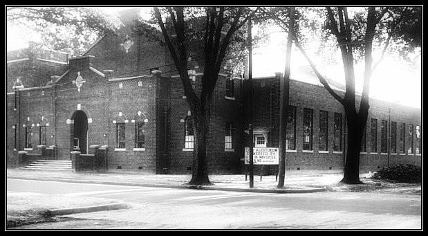 Waycross City Auditorium, Pendleton and Oak Streets, 1937
