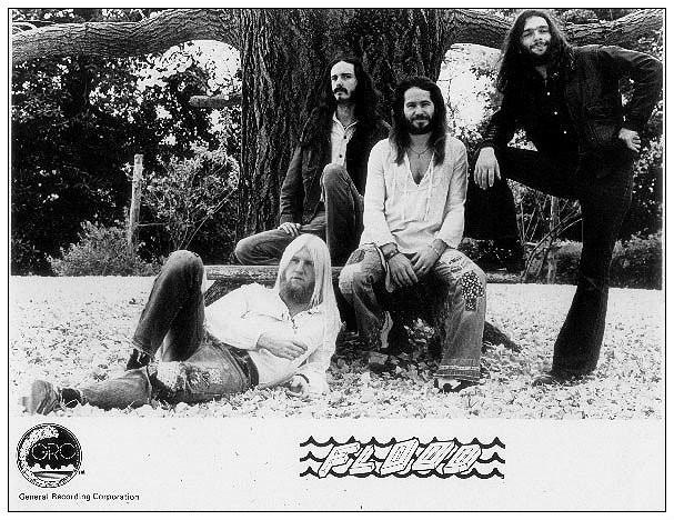 L-R:  Don Berg, Jay Wetzel, Bob Herrin and Rory Knapton, 1972