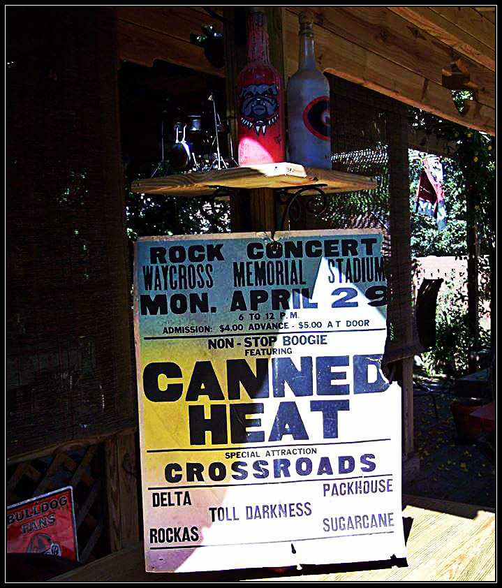 Original poster, courtesy Jamie Anderson and the Tiki Hut.