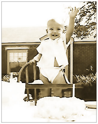 """Uncle Dave, Marietta Georgia, 1954.  """"Someday, time will stand still and I'll throw up in a shoe."""""""