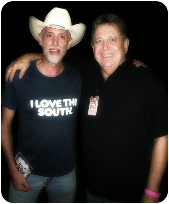Uncle Dave Griffin and Rodney Dillard. 2011 Gram Parsons Guitar Pull, Waycross GA