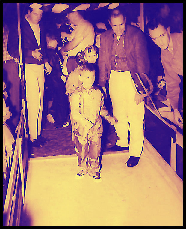Halloween carnival, 1958