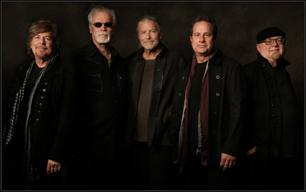 Firefall.  L-R:  Jock Bartley, David Muse, Mark Andes, Gary Jones, Sandy Ficca