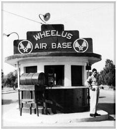 Main entrance to Wheelus Air Base