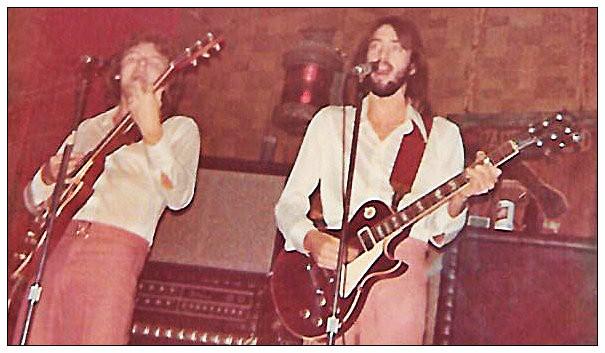 L-R: Joe Shear, Uncle Dave.  Sheraton on the Beach, Panama City Beach, 1976