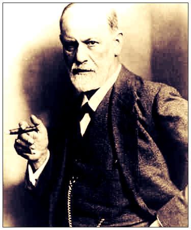 Sigmund Freud, photo by Max Halberstadt, c. 1921