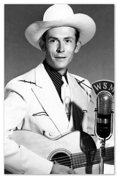 Hank Williams. WSM promotional shot, 1951