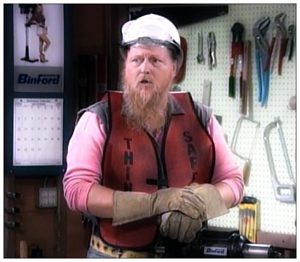 Tool Time's Pete Bilker from Home Improvement