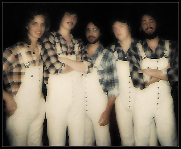 L-R: Ricky Alderman, John Smith, T. Wayne Scarborough, Joe Shear, Uncle Dave, 1977