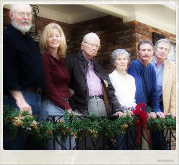The Smiths:  Ben III, Evelyn, Judge Ben, Lynn, Bill, John Randall.