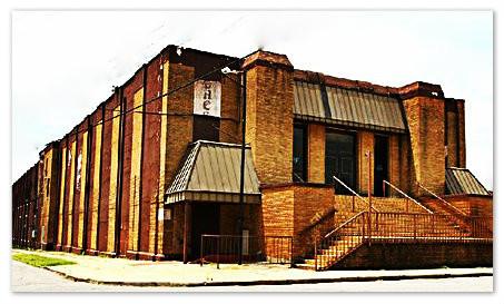 Little Rock's Checkmate Club.  Entrance at front left corner.