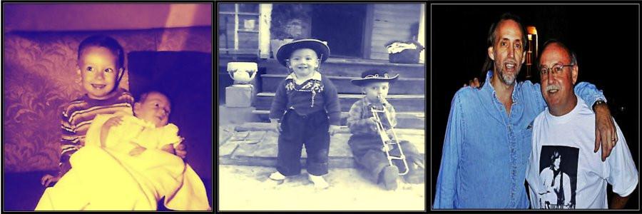L-R: Marietta, 1953; Carter Farm, 1956; Gram Parsons Guitar Pull, 2001
