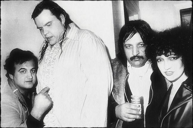 John Belushi, Meatloaf, Steve Popovich, Karla DeVito