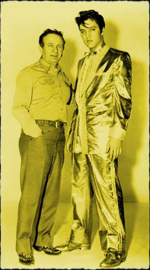 Nutya Kotlyrenko with Elvis.