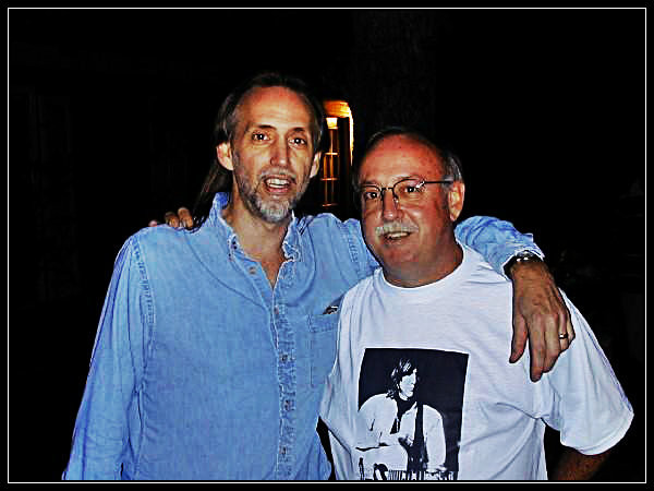 Uncle Dave and Brother Gary, 4th Annual Gram Parsons Guitar Pull, Thanksgiving weekend 2001.