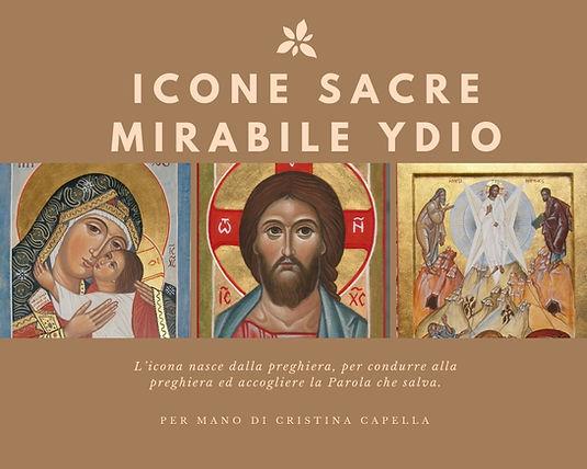 ICONE SACRE MIRABILE YDIO Icone di Gesù Cristo,della Madre di Dio,dei Santi