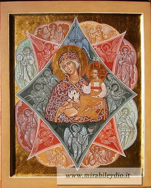 Icone della Madre di Dio:Roveto Ardente
