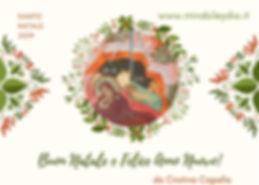 Auguri con l'Icona del NATALE, da Cristina Capella