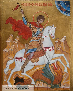 Icone dei santi: San Giorgio