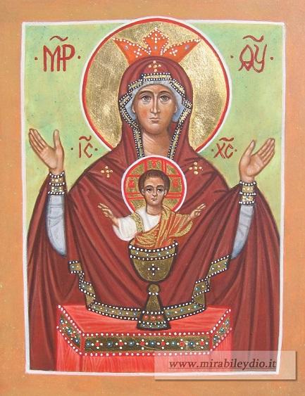 Madre di Dio Calice Inestinguibile 17