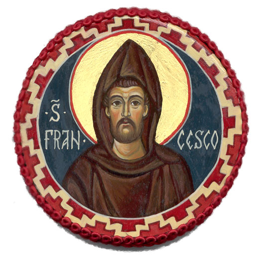 Francesco di Assisi( tondo)