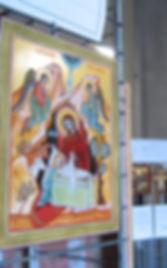 Icone sacre a Varese anche su ordinazione .Allestimento mostre di Icone Sacre.