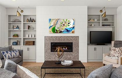 Fused glass wall mural, glass art, beautiful art, interior design, design.