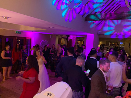 Wedding Dj and Photo Booth Hire at Nuthurst Grange, Solihull