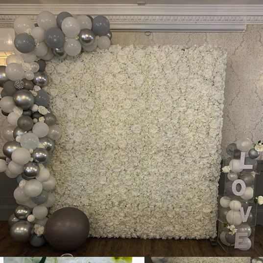 Worcestershire Flower Walls - Ivory Wall