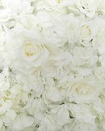 Worcestershire Flower Walls - White Flow