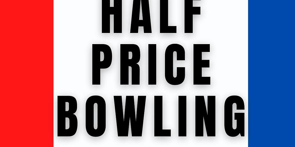 Half Price Sunday Bowling
