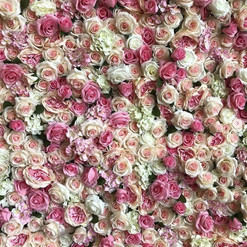 Worcestershire Flower Walls - Mixed Pink