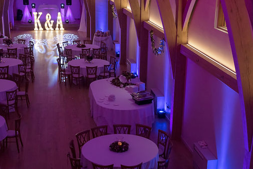 Professional Wedding Dj Room Uplighting