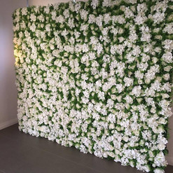 Worcestershire Flower Walls - White Gree
