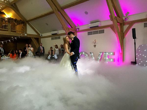 Wedding DJ Dancing On Clouds - Professional Wedding DJ Service