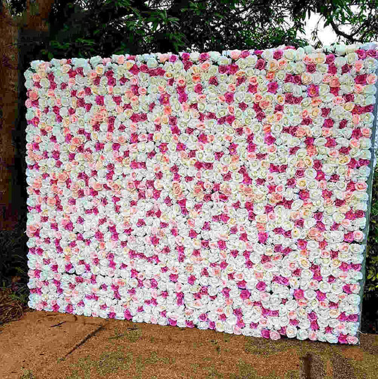 Worcestershire Flower Walls - White Pink