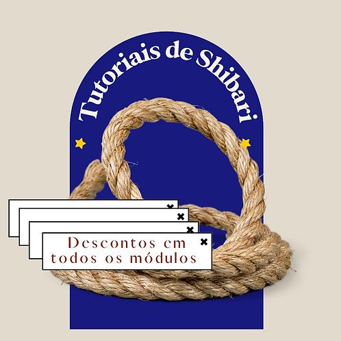Tutoriais de Shibari | 3 módulos