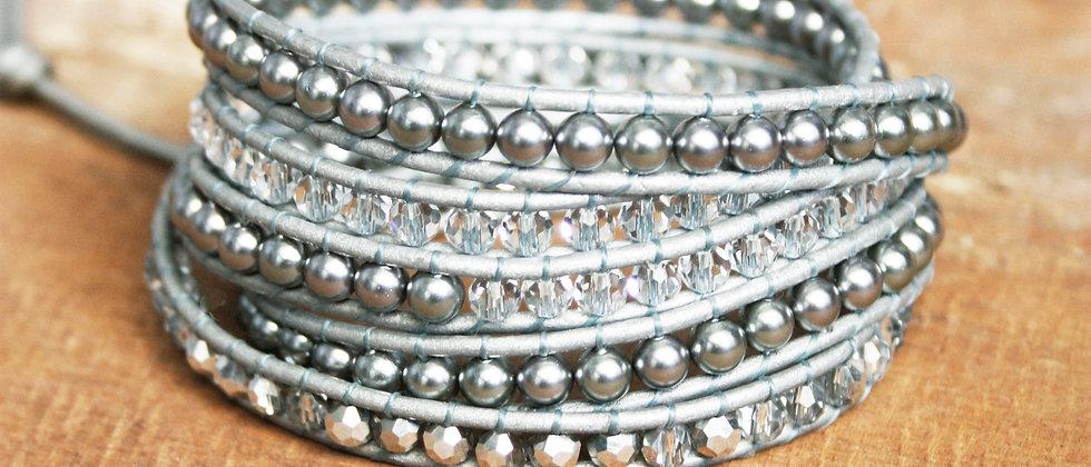 SILVER - Bracelet Wrap -60%