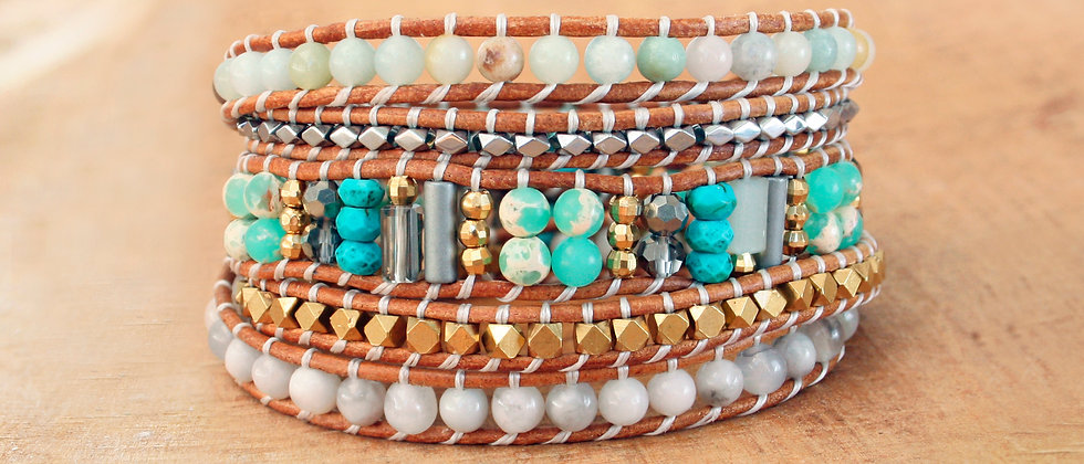 SOUTH BEACH - Bracelet Wrap -30%